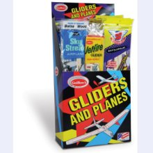 Balsa Wood Gliders - #79 Junior Combo Display