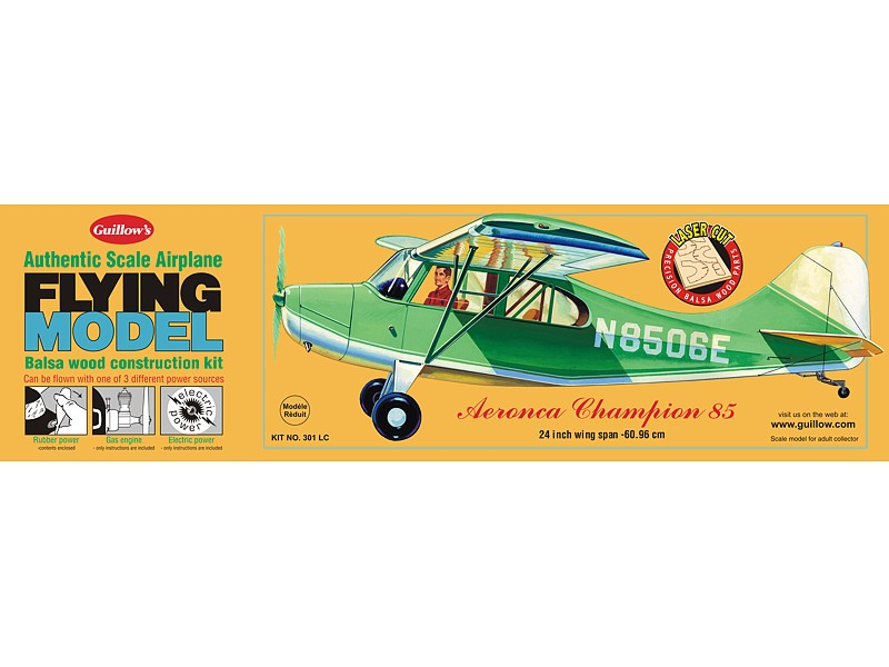 Aeronica Champion Model Airplane Kit 5615