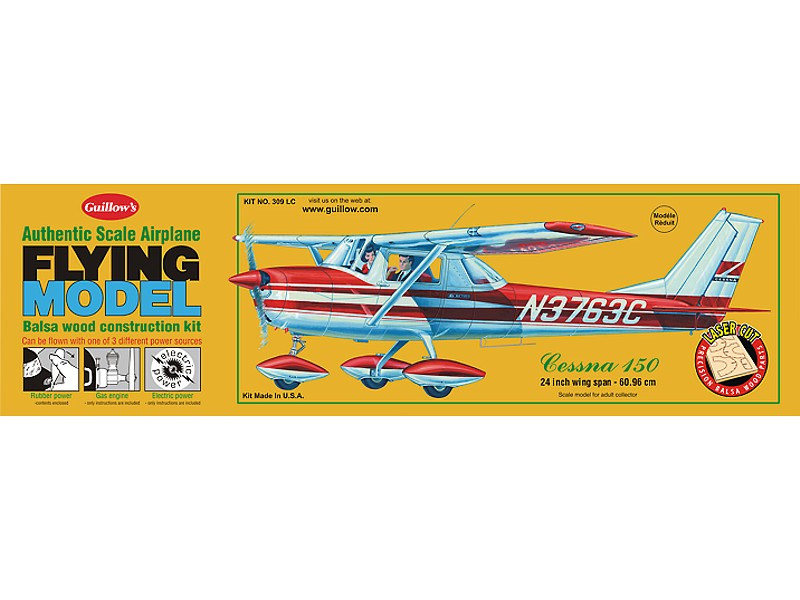 Cessna 150 Model Airplane Kit    5620