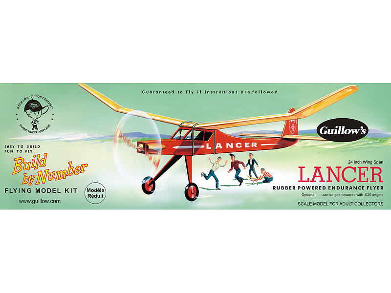 Lancer Model Airplane Kit 03-604