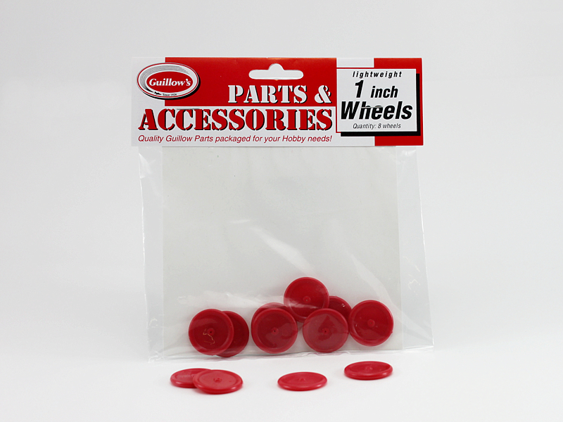 "1"" Plastic Wheels GUI112"