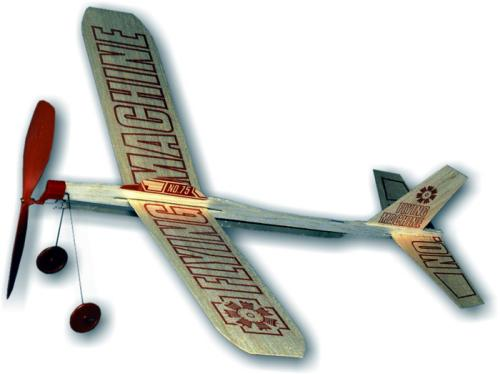 Balsa Wood Gliders - #75 Flying Machine 1451