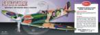 Submarine Spitfire Model Airplane Kit 03-403LC
